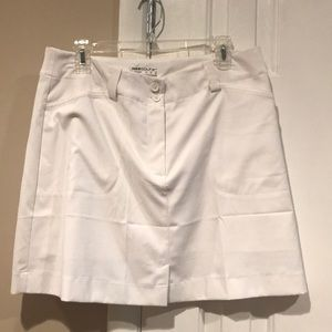 Nike white dry-fit skirt size 12